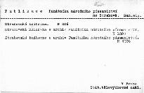 Strahovská knihovna a archiv Památníku národního písemnictví