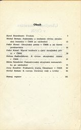 Ukrajinská literatura v ČSSR
