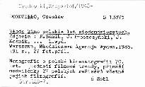 Mlode kino polskie lat siedemdziesatych.