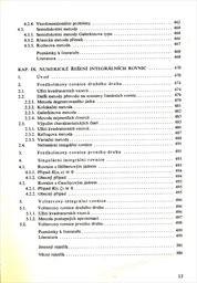Numerické metody