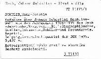 Aufsätze über Johann Sebastian Bach