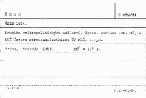 ČSSR 1984