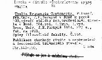 Thalia Brunensis Centenaria