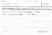 Vývoj matematiky v ČSR v období 1945-198
