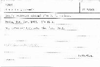 Soupis zvukových záznamů díla E. F. Buriana