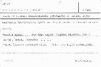 """Památník 9. sletu všesokolského pořádaného na oslavu stých narozenin Dr. Miroslava Tyrše za účasti svazu """"Slovanské sokolstvo"""""""