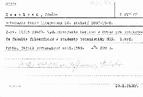 Antologie české literatury 20. století