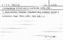 Bibliografija čechoslovackoj rusistiki (