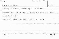 Antologia slovenskej literatury 20. stor