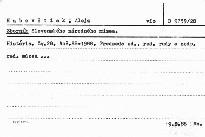Zborník Slovenského národného múzea                         ([Zv.] 28, roč. 82 - 1988)