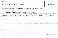 Metodika prace informacnich stredisek kk