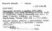 Slovenské divadlá v sezóne 1980-1981