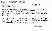 Franz Shubert in seiner Welt