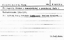 Bibliografia článkov z komunistickej a p