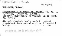 Encyklopedia of Music in Canada