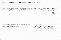 Logopedie - metodika a didaktika