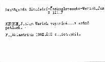 Jan Werich vzpomíná... vlastně Potlach