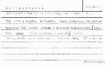 Bibliografie českého knihovnictvi, bibli; Bibliografie českého knihovnictví, bibliografie a VTI