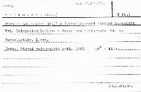 Přehled základních údajů o československé