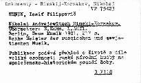 Nikolai Andrejewitsch Rimskij-Korsakow