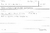 Studie z teorie a metodologie informatik