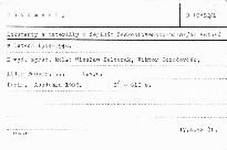 Dokumenty a materiály k dějinám československo-polských vztahů v letech 1944-1948