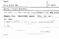 Zpráva o Gustavu Mahlerovi