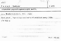 Kompendium psychodiagnostickych metod