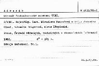 Adresář československé soustavy VTEI                         (2/1981)
