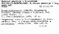 Česká filharmonie 1988/89