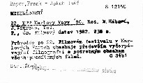22. MFF Karlovy Vary '80