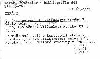 Zprávy Společnosti Vítězslava Nováka 7