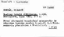 Husliar Osvald J. Willmann