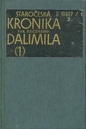Staročeská kronika tak řečeného Dalimila