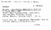Soupis repertoáru Národního divadla v Praze 1881-1983                         ([2. díl],)