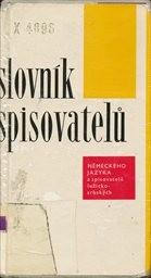 Slovník spisovatelů německého jazyka a spisovatelů lužicko-srbských