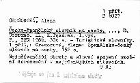 Česko-španělský slovník na cesty