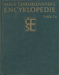 Malá československá encyklopedie                         ([Díl] 5)