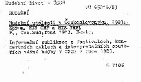 Hudebni udalosti v ceskoslovensku 1983.