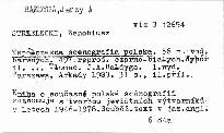 Wspolczesna scenografia polska