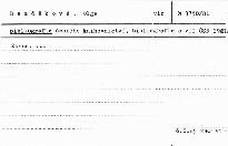 Bibliografie českého knihovnictví,bibli; Bibliografie českého knihovnictví,bibliografie a VTI