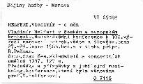 Vladimír Helfert v českém a evropském kontextu