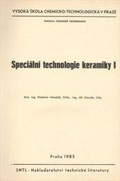 Speciální technologie keramiky 1