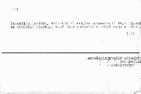 Amtsbericht des pfarrers zu eichengrun