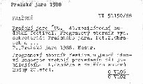 Pražské jaro '88