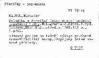 Metodika a formální ústrojenství moderní populární hudby