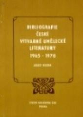 Bibliografie české výtvarné umělecké literatury 1965-1970
