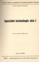 Speciální technologie skla 1