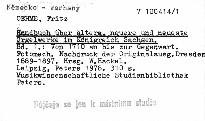 Handbuch über ältere, neuere und neueste Orgelwerke im Königreiche Sachsen
