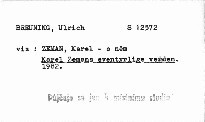 Karel Zemans eventyrlige verden